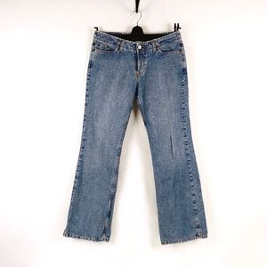 90's Lucky Brand Dungarees Boot Cut Jeans USA Made